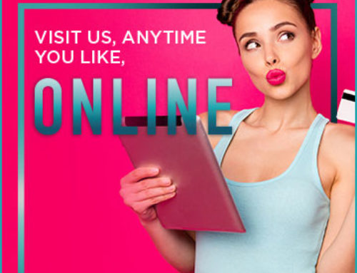 Visit us, Anytime You Like, Online